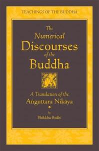 cover of the Aṅguttara Nikāya translated by Bhikkhu Bodhi