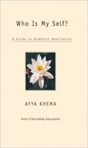 cover of Ayya Khema's book Who Is Myself?: A Guide to Buddhist Meditation